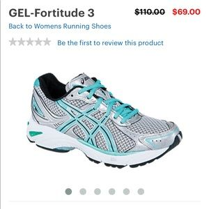 ASICS Gel-Fortitude 3 Sneakers Size 10
